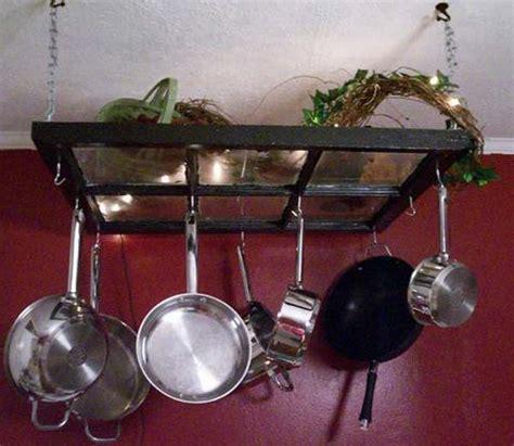 Cool Pot Racks 15 Creative Ways To Repurpose And Reuse Windows