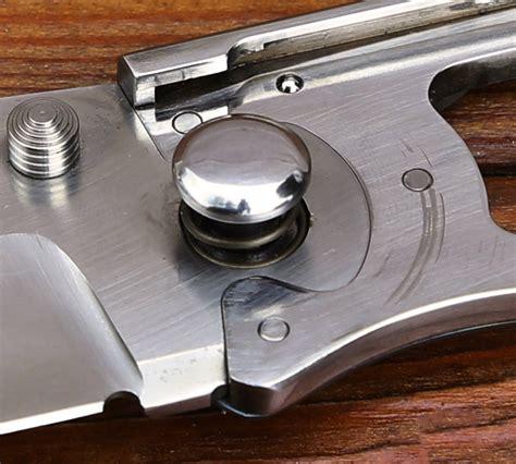 locking blade pocket knife puzzle lock folding knife