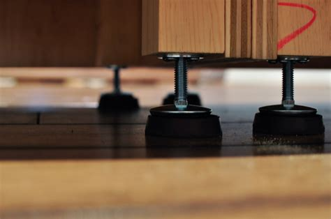 How To Attach A Bar Top Attaching Leveling Carcasses Building Mounting