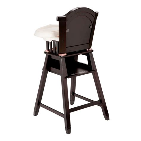eddie bauer classic wood baby child toddler high chair