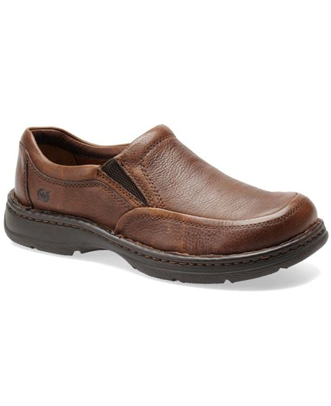 born blast ii slip on shoes in brown for mahogany lyst