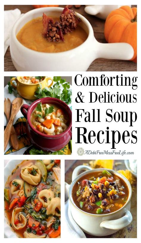 20 simple delicious and comforting fall soup recipes