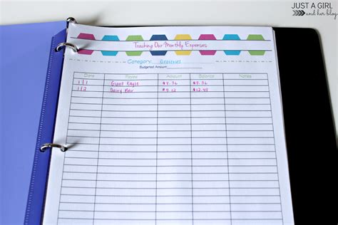 money tracking template organizing finances how to save more money this year