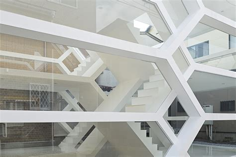Mezzanine Floor Plan House modern transparent house with amazing intricate network