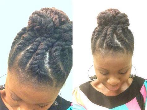 flat twist bun hairstyles flat twist bun natural styles pinterest
