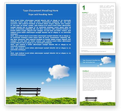 bench card template bench newsletter template for microsoft word adobe