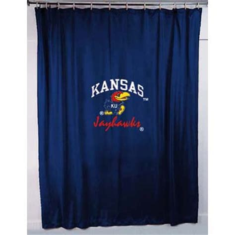 locker room shower curtains kansas jayhawks locker room shower curtain