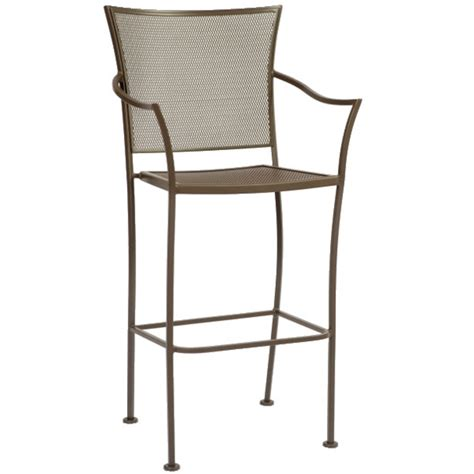 Bar Stool Patio Furniture by Amelie Outdoor Patio Bar Stool By Woodard Outdoor