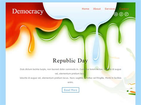bootstrap newsletter layout democracy free bootstrap template for newsletter is a
