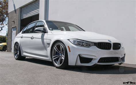 bmw m3 alpine white bmw m3 gets subtly modified