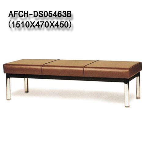 modern office chair lobby leather bench chair afch