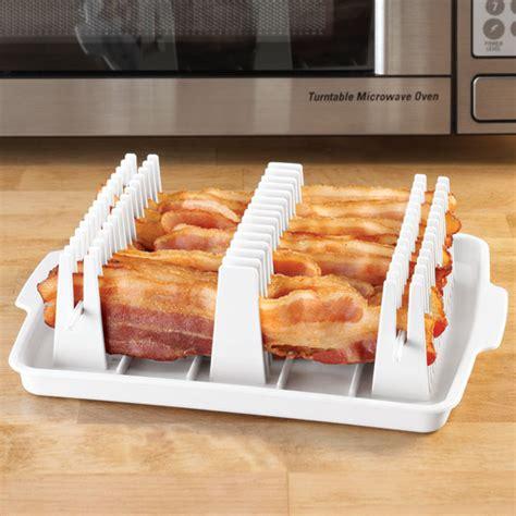Shelf Bacon by Microwave Bacon Rack