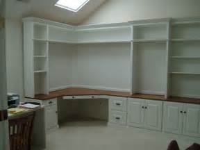 Built In Bookshelves With Desk Home Office On Home Offices Built In Desk And