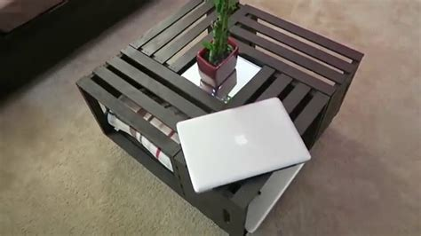 Diy Wooden Crate Coffee Table Diy Coffee Table Wooden Crates