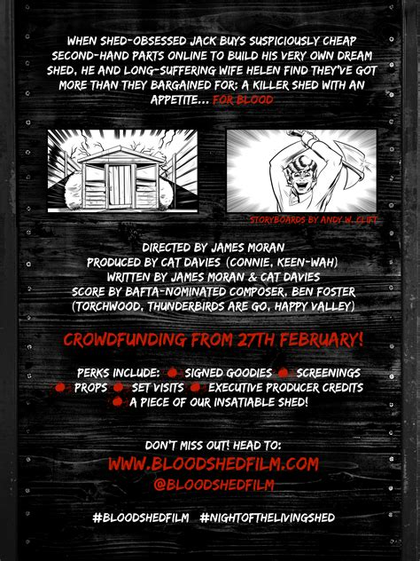 Blood Shed by Blood Shed Horror Comedy From Cat Davies To