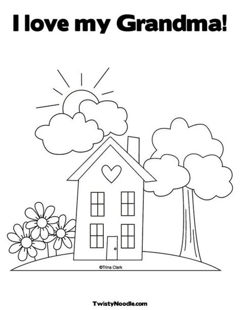 coloring pages i love grandma i love grandma free coloring pages