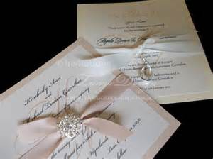 make wedding invites yourself diy wedding invitation kit for 10 invitations do it yourself invites w brooch ebay