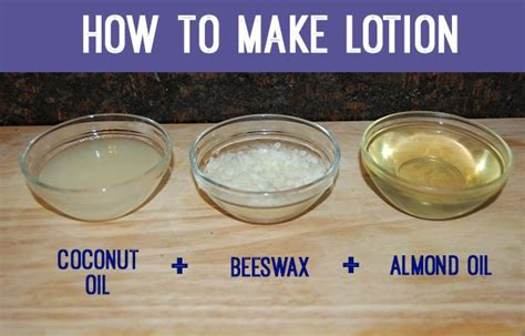 How To Make Handmade Lotion - how to make lotion diy ready