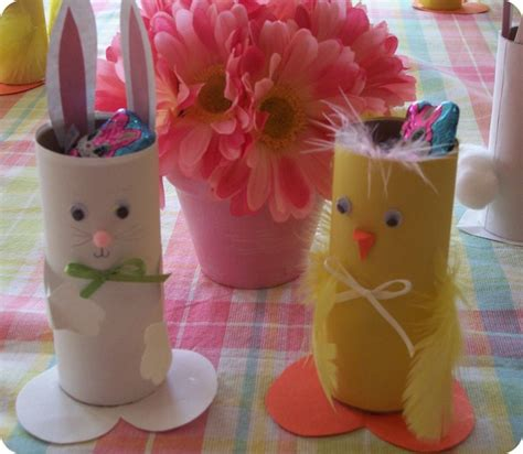 Easter Craft Toilet Paper Roll - easter crafts for 171 itty bitty greenie