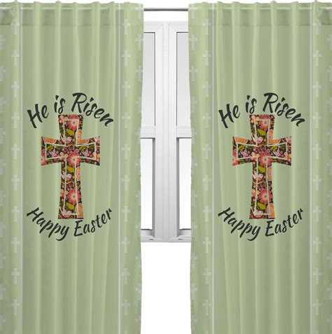 easter kitchen curtains easter cross curtains 56 quot x80 quot panels lined 2 panels