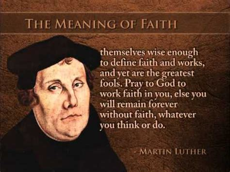 Justification Letter For Unavailability The True Meaning Of Faith By Martin Luther