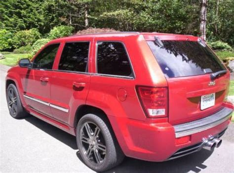 Jeep Grand Srt Horsepower Find Used 2006 Jeep Grand Srt8 Supercharged 600