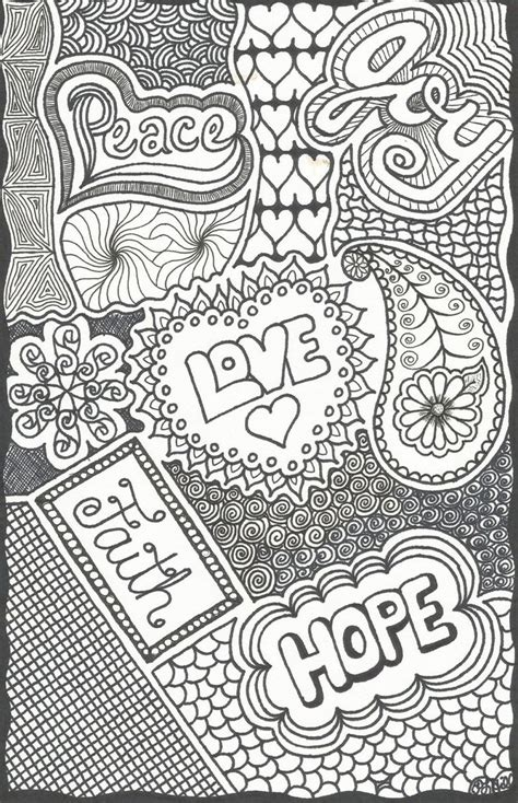 doodle not free pinned from site directly color page on etsy
