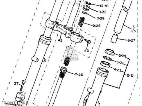 yamaha xv virago   usa parts list partsmanual partsfiche