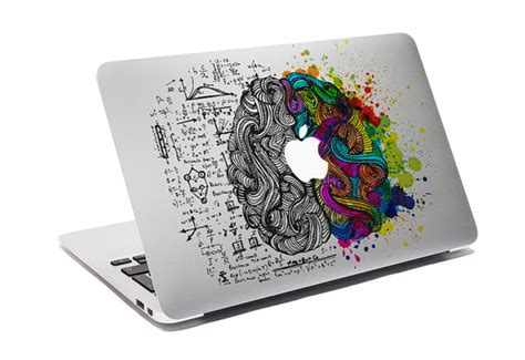 Sticker Laptop Sticker Macbook Sticker Apple Macbook Decal 13 macbook decal think different custom creative sticker for