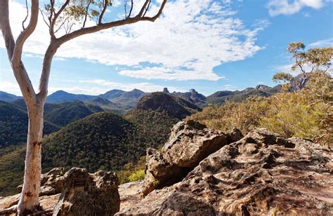 view from fan s horizon lookout warrumbungle national