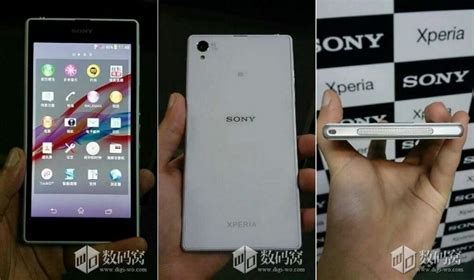 Kamera Depan Sony Xperia Z1 Z 1 Original Front sony xperia z1 honami neue fotos zeigen das dicke gro 223 e kamera smartphone
