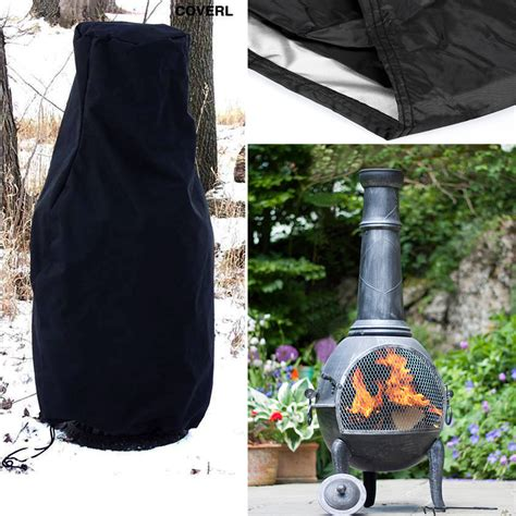 chiminea cover heavy duty water dust proof large chimnea chiminea cover