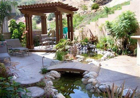 Cool Ideas For Backyard with 53 Cool Backyard Pond Design Ideas Digsdigs