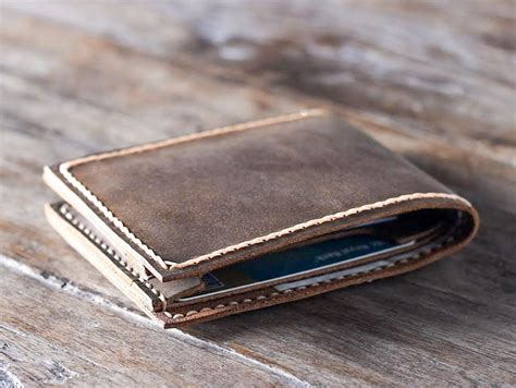 Handmade Mens Leather Wallets - handmade leather wallet best groomsmen gifts gifts for