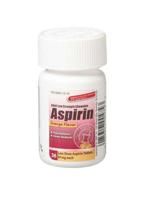 Equate Chewable Low Dose Aspirin generic otc aspirin chewable tablet aspirin 81mg chew orange 36 bt each model s0661c2