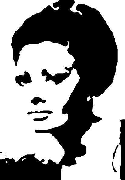 sophia-loren in 2019 | Sophia loren, Silhouette, Stencils