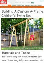 swing set plans and hardware 1000 images about swing on pinterest diy swing