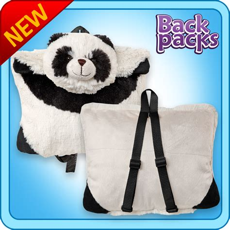 Panda Pillow Pet Walmart by Authentic Pillow Pet Panda Backpack For Notebooks And