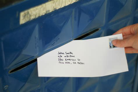 how to address business letter in care of how to address an envelope in care of someone else with