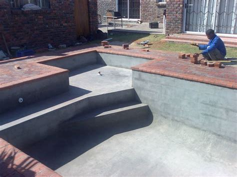 diy inground concrete pool 21 best images about cinder block swimming pool ideas on