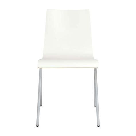 callum chaises de salle 224 manger blanc bois m 233 lamine habitat