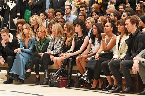 Front Row Fabulistas Which Are Getting The Best Seats At New York Fashion Week by Fashion Week Front Row The 20 Best Dressed