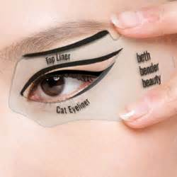 eyeliner template eye makeup stencils india makeup vidalondon