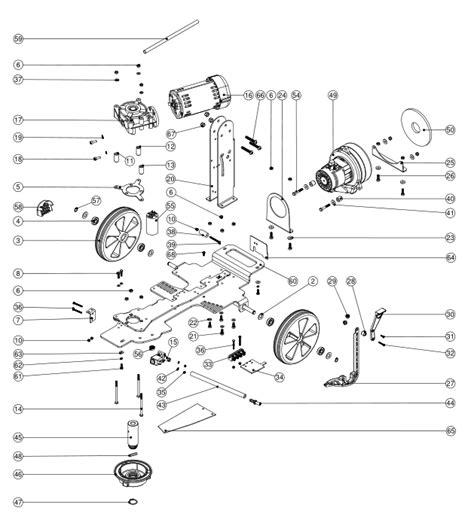 floor l parts diagram numatic tt1840 18l electric floor scrubber 400mm spare parts