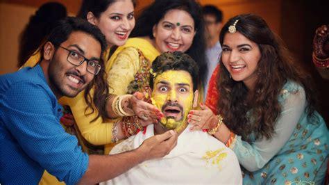 vivek dahiya images check out pics vivek dahiya s haldi ceremony images are