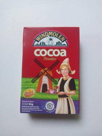 Coklat Bubuk Merk Windmolen 10 merk coklat bubuk untuk minuman yang paling enak