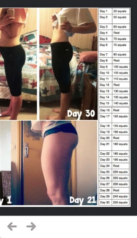best 30 day squat challenge 25 best ideas about squat challenge results on