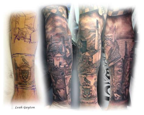 cornish mining half sleeve tattoo by firecomet on deviantart
