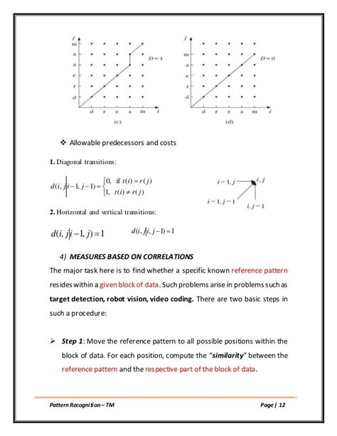 pattern recognition vs pattern matching template matching pattern recognition