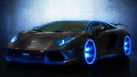 Aventador Lights by Lamborgini Lamborghini Blue Light Aventador Wallpapers